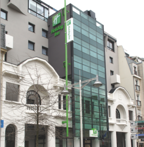 Groupe Sionneau Hôtellerie Holiday Inn Reims centre ville façade