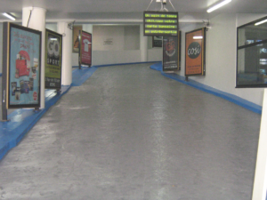 Groupe Sionneau parking Buirette Reims peinture
