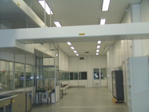 Groupe Sionneau Boehringer Ingelheim Reims peinture réhabilitation ateliers production