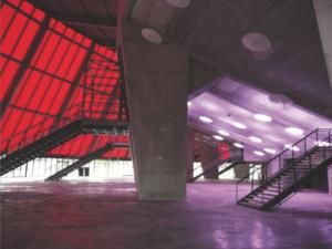 Groupe Sionneau Zénith Amiens peinture salle spectacle
